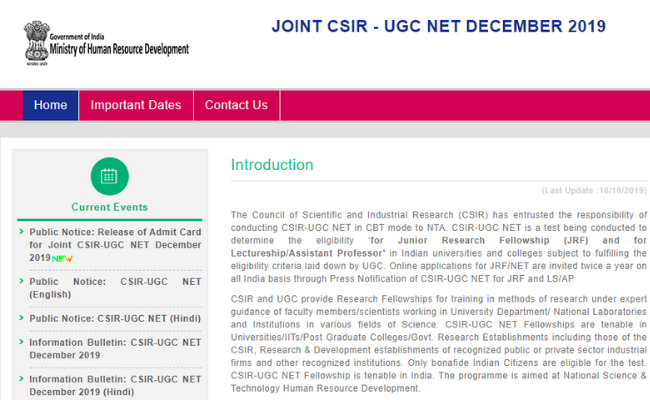 Tips to clear CSIR UGC NET December 2019
