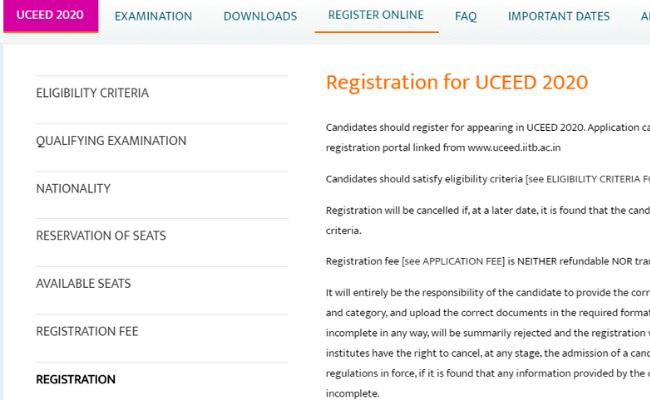 UCEED 2020 Admit Card