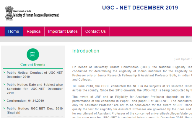 UGC NET December 2019 Answer Key