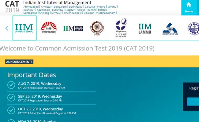 CAT 2019 Score Card