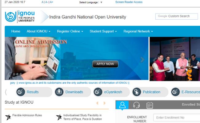IGNOU's Short-Term Programme in Gandhi Studies for IAS Officers