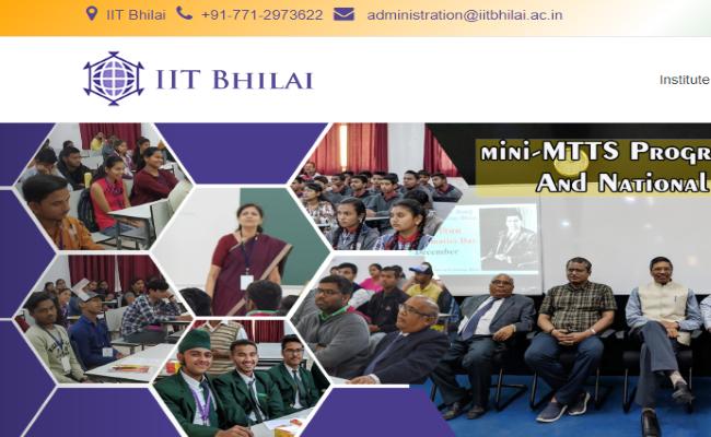 IIT Bhilai Recruitment 2020,