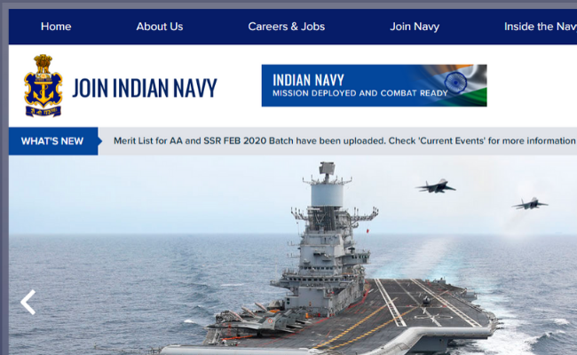 Indian Navy AA/SSR Admit Card 2020