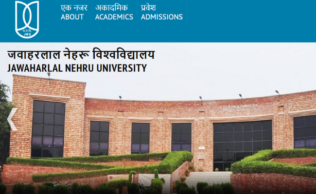 JNU Winter Semester 2020 Application Process