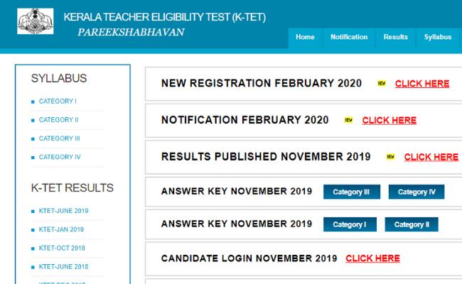 KTET 2020 Application Process