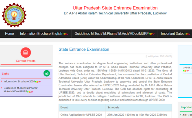 UPSEE 2020 Application Process