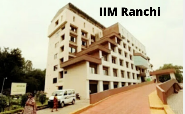 IIM Ranchi Placement Highlights 2020