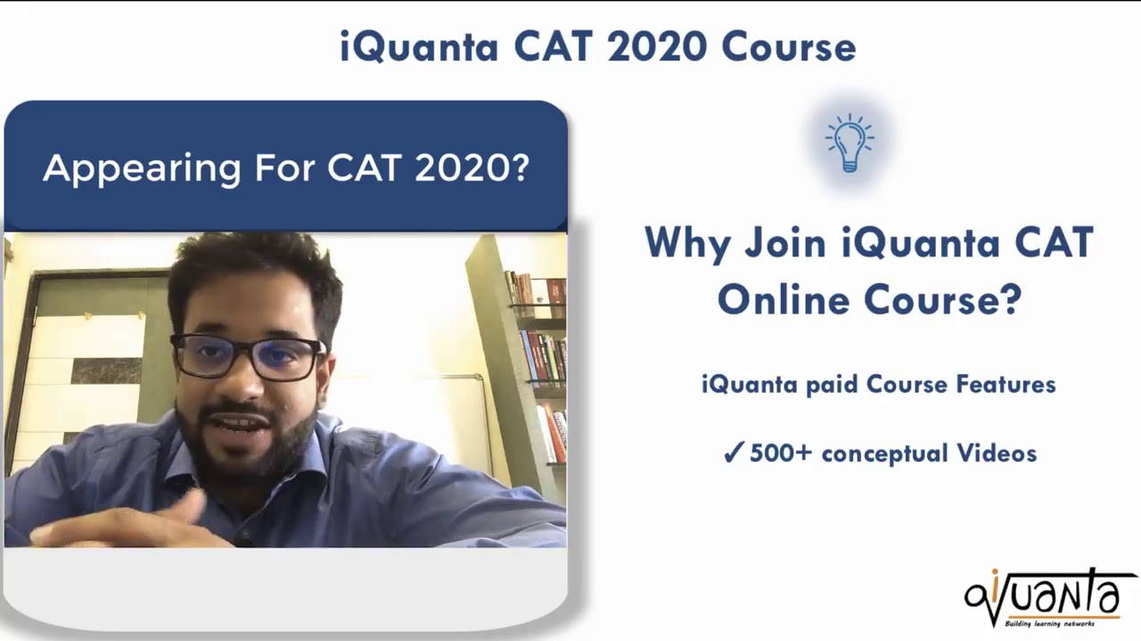 Why Join iQuanta CAT Online Coaching?